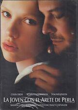 LA JOVEN CON EL ARETE DE PERLA (2003) NEW DVD