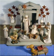 Demdaco Willow Tree Nativity 21 Piece Set - BRAND NEW - IN Stock - Fast Ship