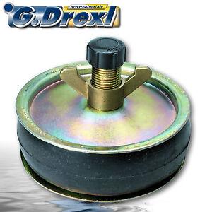 Absperrscheibe Rohrverschluss für Rohre 125 mm ø, z.B. zum Hochwasserschutz