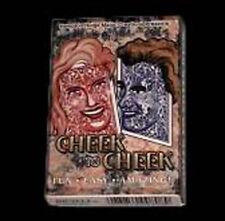 Cheek to Cheek Red Bicycle Magic Trick Card Deck Selected Card Appears Face Up