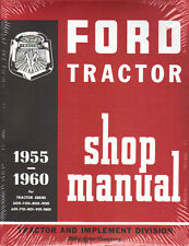 55 56 57 58 60 FORD TRACTOR SHOP MANUAL-600 700 800 801