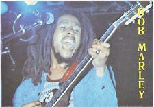 Reggae Memorabilia-Bob Marley Publicity Postcard (Delta Productions R30)