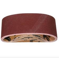 Powertec 3x18 inch 180 Grit Aluminum Oxide Sander Sandpaper Sanding Belt 10 Pack