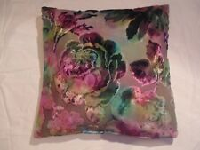 Designers Guild Velvet Fabric Mathura Kingfisher Cushion Covers