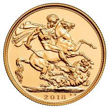 2018 Gold FULL Sovereign Queen Elizabeth II