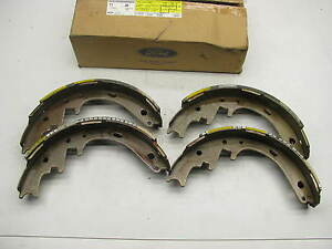 NEW GENUINE - OEM Ford F3UZ-2200-A Drum Brake Shoes 11 1/32 X 2 1/4""