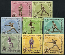 Afghanistan 1963 Ganefo Athletic Games Sports MNH Imperf Set #D43725