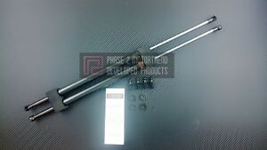 P2M Rear Hatch Dampers for Nissan S13 Hatchback 180SX Carbon Series Silvia