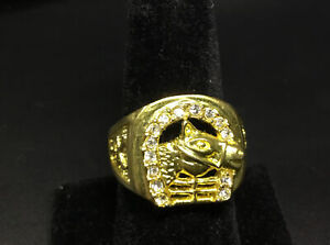 Elvis 1956 Horseshoe Ring Replica / Direct From Memphis Size 12