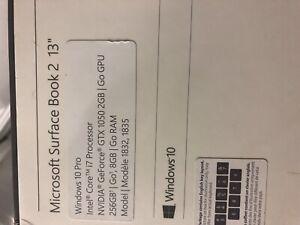 microsoft surface book 2 13.5 i7