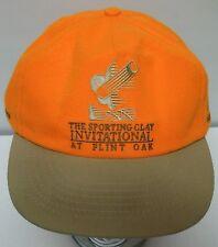 SPORTING CLAY PIGEON SHOOTING INVIATIONAL Flint Oak HUNTING ORANGE Snapback Hat