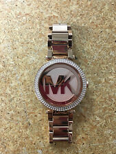Michael Kors Parker Dial Rose Gold-tone Stainless Steel Ladies Watch MK5865