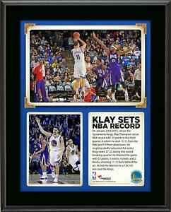 Klay Thompson Golden State Warriors 37 Points In A Quarter 10'' x 13'' Plaque