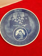 "Royal Copenhagen Christmas Plate ""Merry Christmas"" 1983"