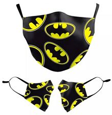 BATMAN Cartoon Soft Cloth Face Mask Washable Reusable US SELLER FAST SHIPPING