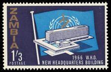 ZAMBIA 27 (SG117) - World Health Organization Headquarters (pf95142)