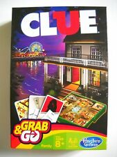 Grab and Go Hasbro Gaming Clue Travel Game