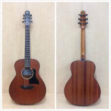 Caraya No-Back-Bracing All Mahogany Traveler Series Acoustic Guitar + Padded Bag