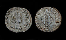Sizain 1642 Franco-Catalanes, Louis XIII°. Compte de Barcelone. Cuivre