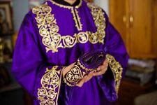 Orthodox deacon vestments set, purple