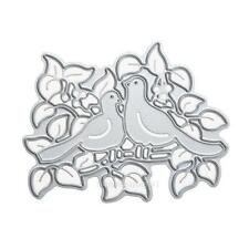 New Bird Leaf Metal Cutting Dies Stencil DIY Scrapbooking Album Paper Card Craft