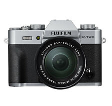 Fujifilm XT20 Silver w/XC 16-50mm Lens 24.3MP Digital Mirrorless Camera