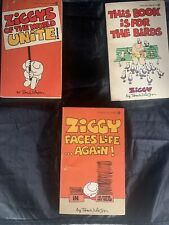 Ziggy by Tom Wilson Vintage Book Lot of 3