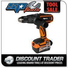 """SP Tools 18V Lithium-Ion 1/2"""" Cordless Drill/Driver Kit - SP81234"""