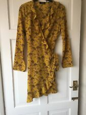 Girls on Film Wrap Ruffle Dress  Size 10