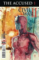 Civil War II The Accused #1 Dare Devil  Marvel comic 1st Print 2016 unread NM