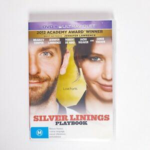 Silver Linings Playbook Movie DVD Region 4 AUS Free Postage - Romance Comedy