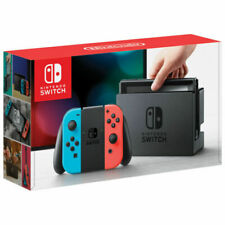 Nintendo Switch (Red & Blue Joy-Con) & accessories!  6 Month Warranty!