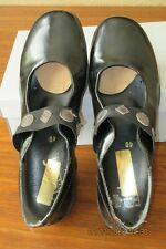 Rieker Black Patent Leather Mary Jane Comfort Shoes Women's 40 /9