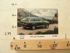 AF086-PHOTO FACTORY ? AUDI ALL ROAD QUATRRO 1/98