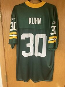 Green Bay Packers Jersey #30 John Kuhn size adult Large