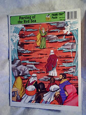 1995 PARTING OF THE RED SEA FRAME-TRAY PUZZLE Moses western publishing 8484-14