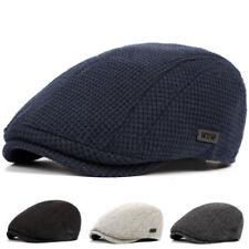 Unisex Men's Cotton Gatsby Cap Golf Driving Flat Cabbie Beret Newsboy Hats !