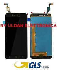TOUCH SCREEN VETRO + LCD DISPLAY Assemblati Per LENOVO K5 VIBE A6020A40 NERO