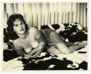CARLA SHAFER Nude Model Bunny Yeager Archive 1960s Original Vintage Photograph