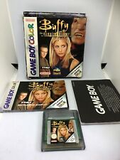 Nintendo Game Boy Color Game * BUFFY VAMPIRE SLAYER * Complete