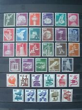 GERMANY BERLIN MNH** INDUSTRY & SECURITY 2 SETS