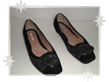 5056d4fc8893 H - Chaussures Ballerines Fantaisies Bicolore Noir Gris Geox Pointure 36