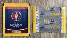 Panini Euro 2016 - Pochette Bustina Tüte Sobre Bag Packet Mc Donald's Belgium