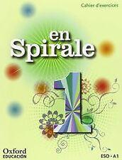 (15).EN SPIRALE 1ºESO.CAHIER +GRAMATICA.(FRANCES). ENVÍO URGENTE (ESPAÑA)