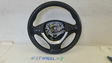 BMW X5 E70 BLACK LEATHER MULTIFUNCTION STEERING WHEEL 2008
