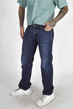 HUGO BOSS Pantaloni Pants Jeans Blu In Cotone Cotton IT 46 - L Uomo Man