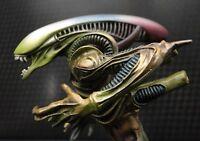 Warrior Alien Bronze Monster Skull UFO Sculpture Statue Art Figure H.R. Giger