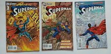 The New 52 Superman #1-3 2011 NM