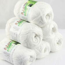 Lot 6 Balls X50g Soft Bamboo Cotton Baby Wrap Hand Knitting Crochet Yarn 01