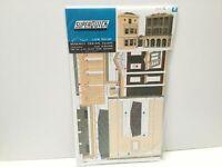 Superquick C4 OO Gauge Low Relief Regency Period Shops & House Card Kit